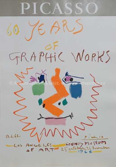 Pablo Picasso - 60. výročí grafické práce