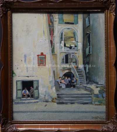 František X. Diblík - Neapol