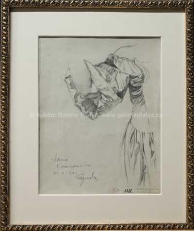 Alfons Mucha - Studie