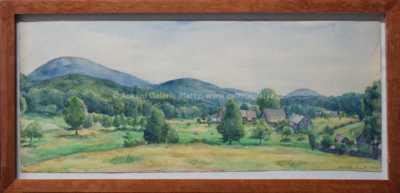 Jan Rambousek - Horská vesnička