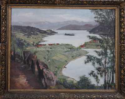 Alois Tužinský (Tužina) - Norský fjord