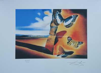 Salvador Dalí - Motýli