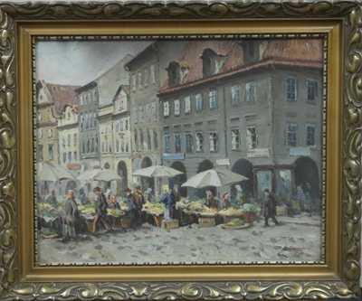 Antonín  Augusta - Havelský trh