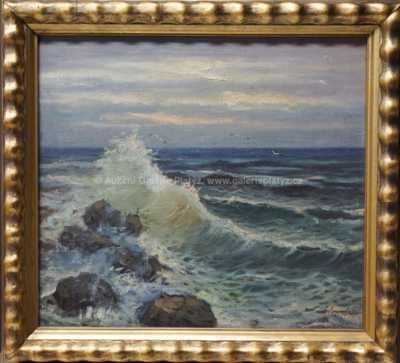 Antonín  Augusta - Červánky nad mořem