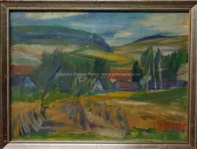 Miloslav  Holý - Vesnice v údolí