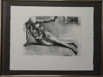 Salvador Dalí - Akt