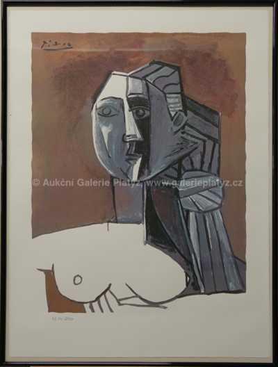 Pablo Picasso - Hlava
