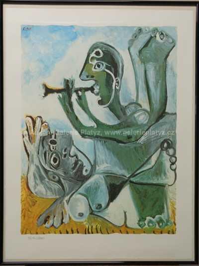 Pablo Picasso - Hudebník