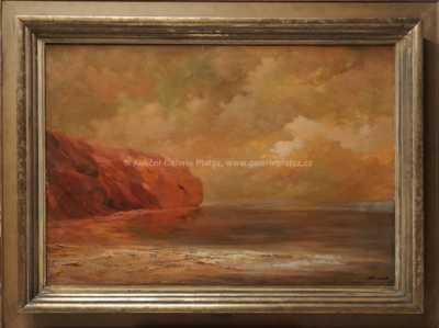 Karel Hodr - Bretaňské pobřeží