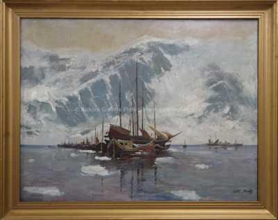 Oldřich Farský - Zamrzlý přístav