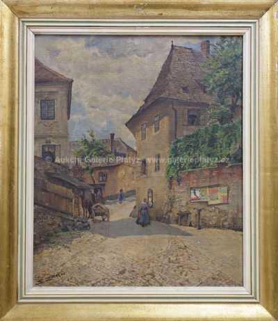 Salomon Zorn - Stará ulička