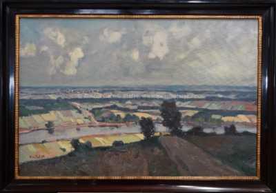Vilém  Kreibich - Říční údolí