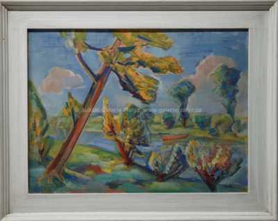 Jaroslav Grus - Nahnutý strom