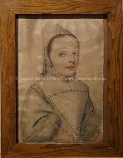 Hanuš Schwaiger - Dívka v renesančním stylu