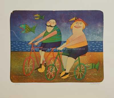 Adolf Born - Holandští cyklisté