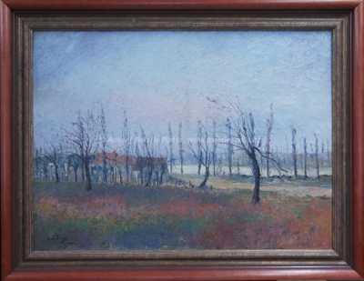 Eduard Febvre - Podzimní krajina
