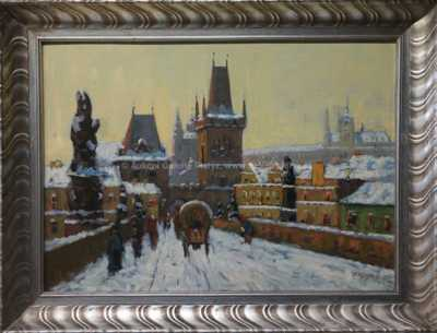 Václav  Kozák - Na Karlově mostě