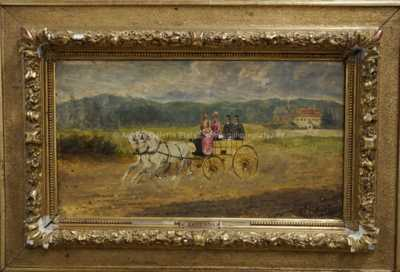Alexander von Bensa - Na projížďce