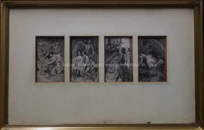 Emil Holárek - Konvolut čtyř kreseb