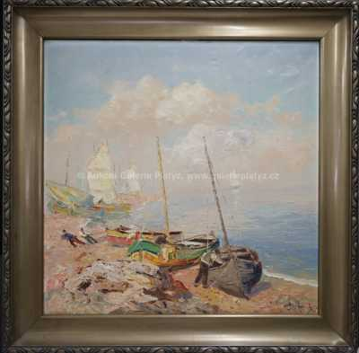 Josef  Svoboda - Bretanští rybáři