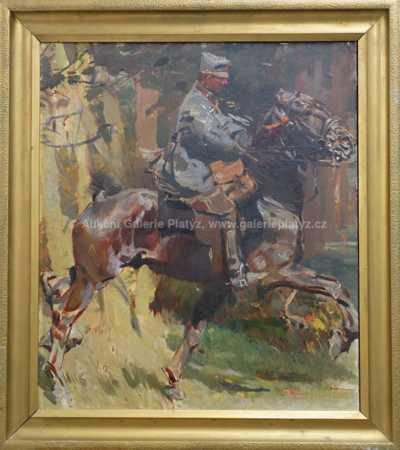 Ludvík Vacátko - Na koni