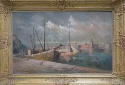 Karel Hodr - Přístav ve Stockholmu