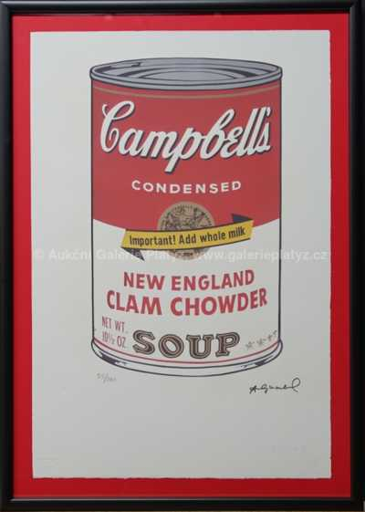 Andy Warhol - Campbells Soup Cans