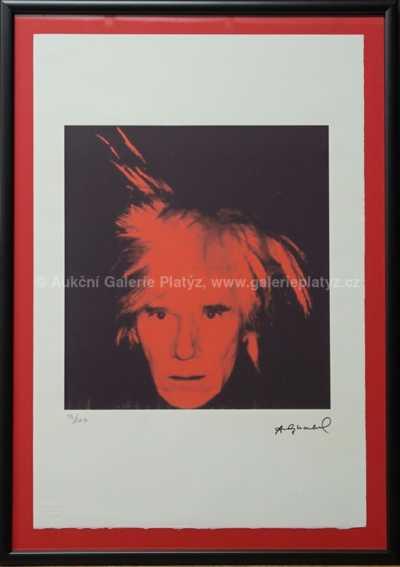Andy Warhol - Autoportrét