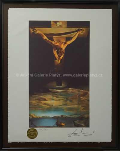 Salvador Dalí - Ukřižovaný