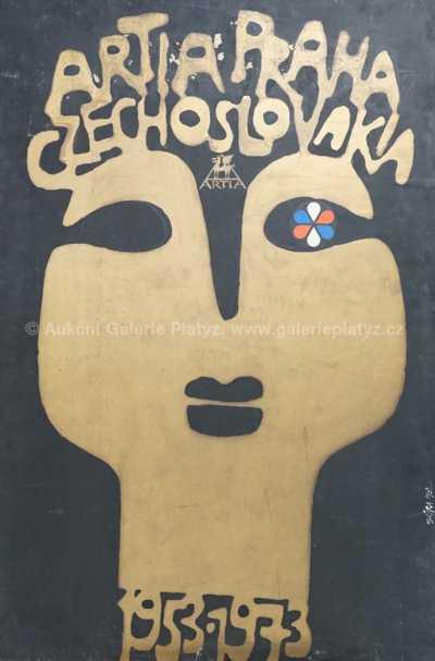 Jaroslav Sůra - Návrh výročního plakátu Artie