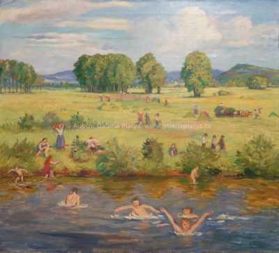 Antonín Majer - Léto na řece