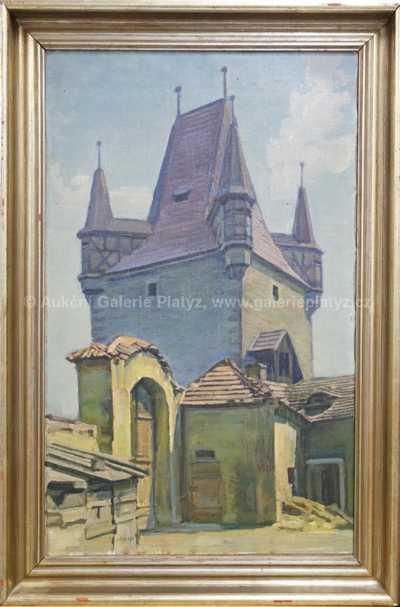 Rudolf Puchold - Pražská brána v Rakovníku