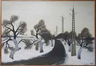 Vlastimil  Beneš - Zimní cesta