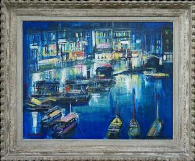 Rudolf Kundera - Noční přístav Cassis