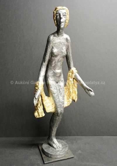 Olbram Zoubek - Dívka s draperií