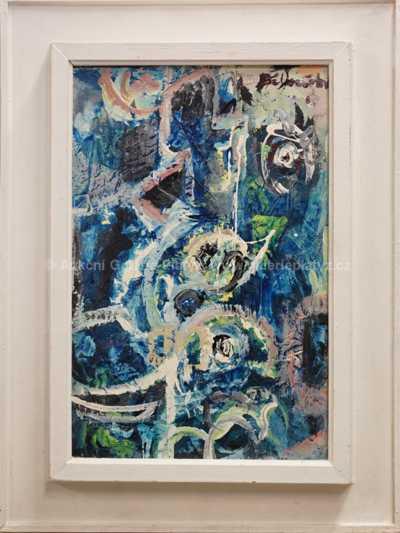 Andrej Bělocvětov - Abstrakce v modrém