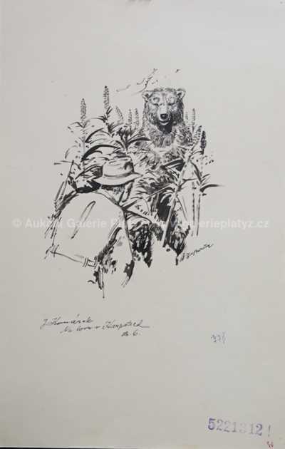 Zdeněk Burian - Na lovu v Karpatech