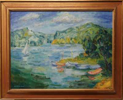 Marie Hlobilová-Mrkvičková - Máchovo jezero