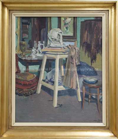 Jan Melichar - V ateliéru