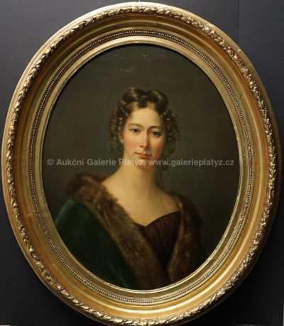 Nesignováno - Portrét kněžny Paarové