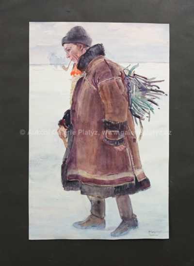 Vincent Plesnivý - Muž s fajfkou