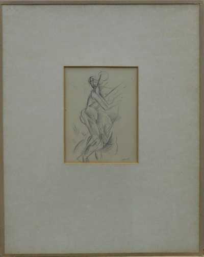 Alfréd Justitz - Kubistická postava