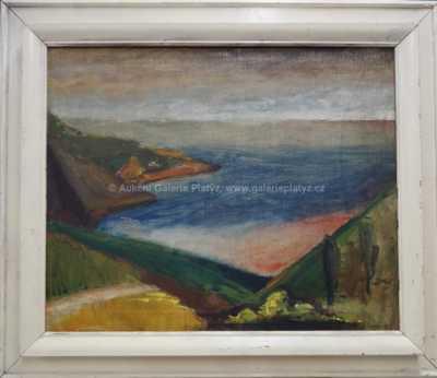 Augustin Ságner - Pohled na moře