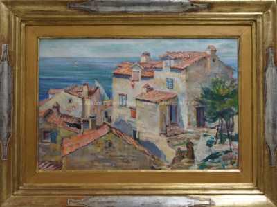 Karel Špillar - Motiv z Francie