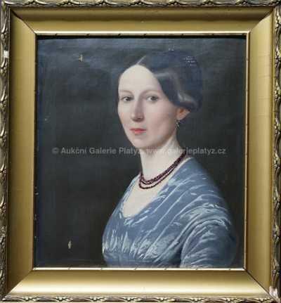 Nesignováno - Portrét dámy