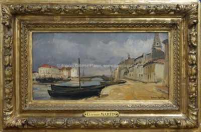 Etienne Martin - V rybářském přístavu