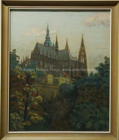 Jaromír Stretti - Zamponi - Katedrála sv. Víta