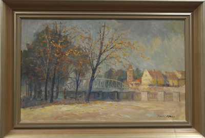 Karel Hodr - Podzim v Budějovicích