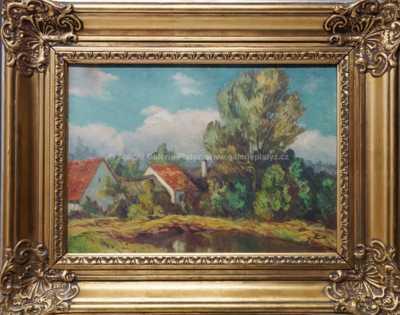 Jindřich Šimek - Chaloupky u rybníka