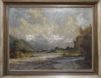Paul Thiem - Alpské údolí
